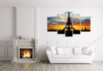 Eiffel Tower on the wall
