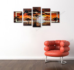 Sublime Sunset on the wall