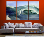 High Waves on the wall