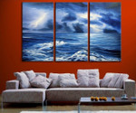 Sea Storm on the wall