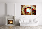 Swirl on the wall
