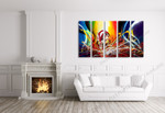 Colour Outburst on the wall