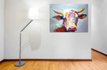 Popsy Cow on the wall