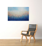 Pastel Field on the wall