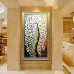 Knife Painting SAH143-4 on the wall