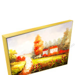 Gold Floating Frame
