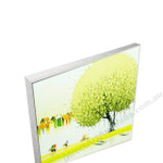 Silver Floating Frame