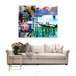 Flowers of Venice Italy Painting on the wall