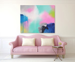 Cotton Candy on the wall