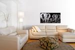 Metal Wall Art LB011 on the wall