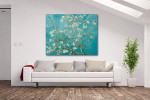 Almond Blossom on the wall
