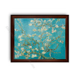 Almond Blossom Dark Brown with Gold Inner