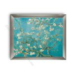 Almond Blossom Modern Flat Silver