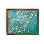 Almond Blossom Gold A1 Frame