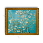 Almond Blossom Gold Classic Frame