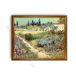 Garden at  Arles Gold A1 Frame