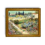 Garden at  Arles Gold Classic Frame