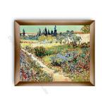 Garden at  Arles Modern Flat Gold Frame