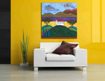 Tuscany Landscape on the wall