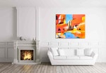 Anne Schwartz | Approaching Murano on the wall