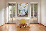 Anne Schwartz | Umbrian Sun on the wall