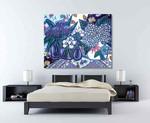 Brooke Howie | Artichokes & Hydrangeas on the wall