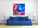 Brooke Howie | Blue Moon 1 on the wall