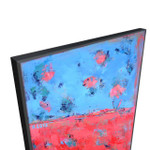 Brooke Howie | Red Blue Abstract