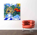 Brooke Howie | Sunflowers and Poppies on the wall