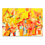 Colorful Oil Painting Canvas Art Print