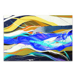 Colorful Streaks Art Print