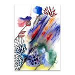 Fabric Pattern Canvas Art Print