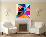 Fantastic Elements Canvas Art Print on the wall