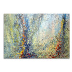 Forest Abstract Canvas Print