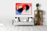Girls Dancing Art Print on the wall
