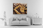 Howl And Hair Canvas Print on the wall