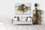 Modernism Abstract Canvas Print on the wall