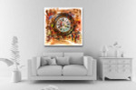 People and Time Canvas Art Print on the wall