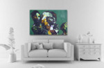 Portrait Of A Woman Canvas Print on the wall