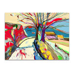Rural Landscape Art Print