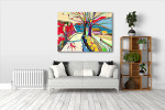 Rural Landscape Art Print on the wall