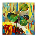 Sprout In A Pot Canvas Print