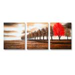 Brown Landscape - 3panels