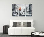 Paris Canvas Art - 3panels on the wall