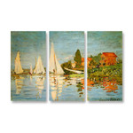 The Regatta at Argenteuil - 3panels