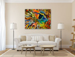 Colors of the Mind Art Print on the wall
