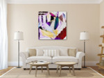 Crafting Papers Art Print on the wall