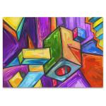Cubic Dream Canvas Art Print