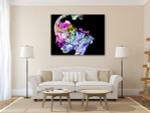 Human Spirit Canvas Art Print on the wall