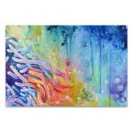 Rainbow Corals Art Print